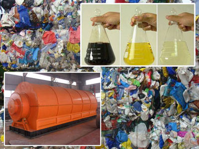 Convert Waste Plastic To Fuel Oil