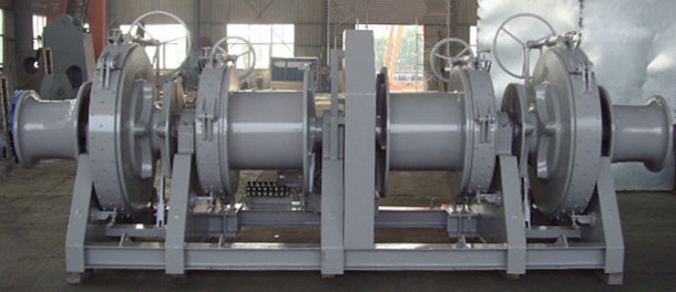 Ellsen marine double drum winch