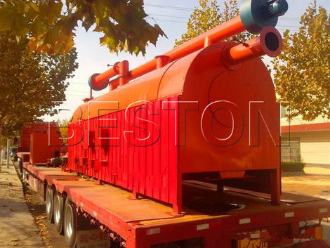 Coconut Shell Charcoal Producing Machine