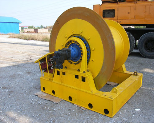 Ellsen high quality hydraulic winch for sale