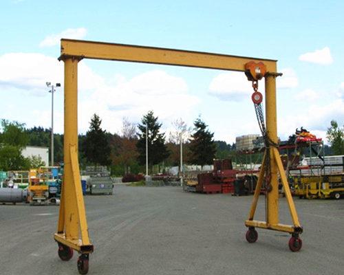 Ellsen 5 ton light duty gantry crane for sale