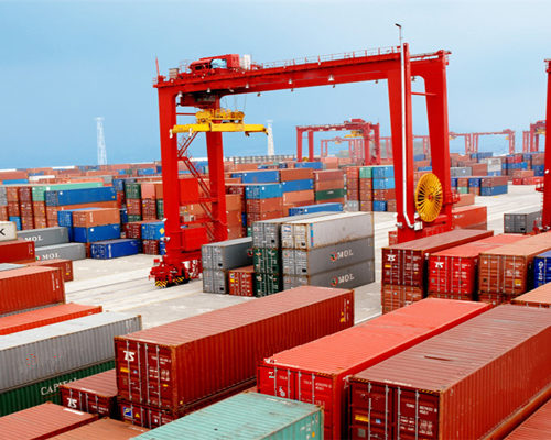 Ellsen low container port gantry crane price for sale