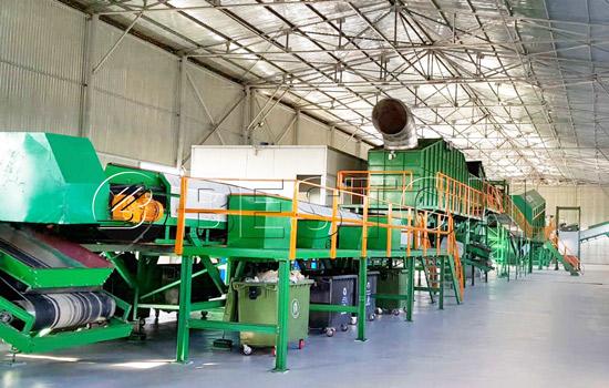 Beston automatic Waste Sorting Machine