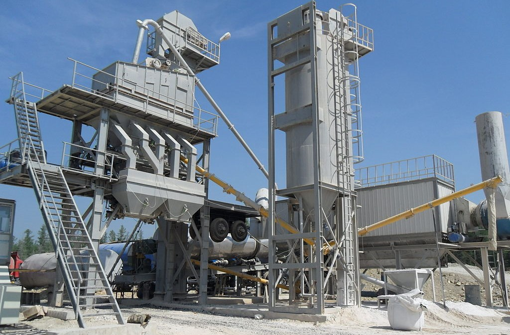 hot asphalt mix plant