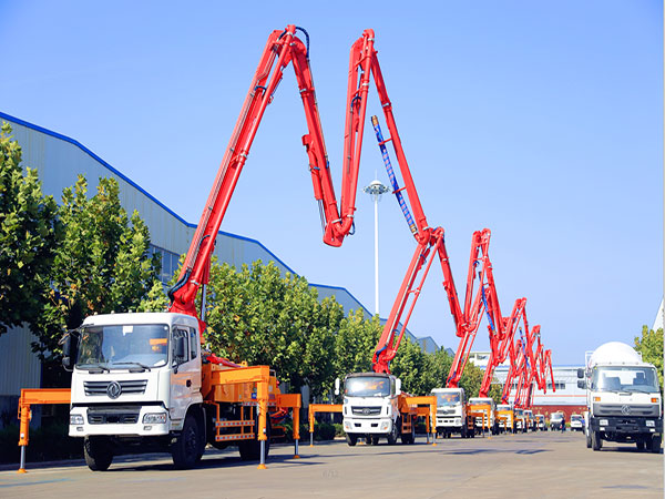 truck mounted concrete boom pumps for sale