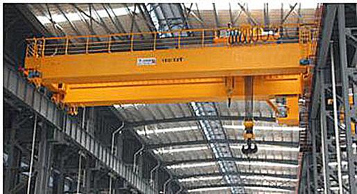 The bridge crane birrail
