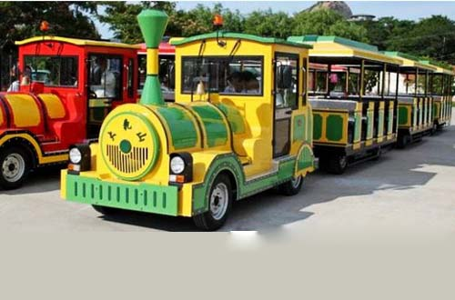 Hot sale trackless train for park