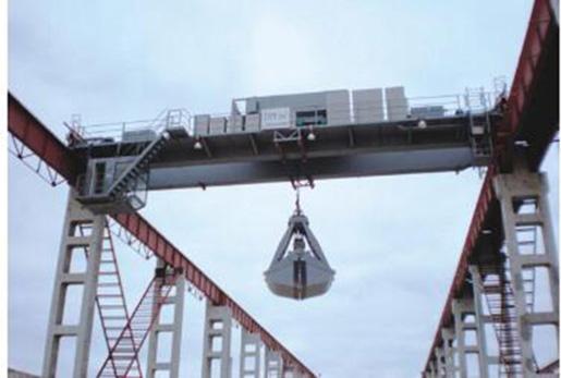 the bridge Crane with gancho